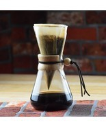 High-Quality Chemex Style Coffee Brewer 1-3 Cup... - $29.91