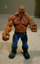 "Marvel Legends Fantastic Four THE THING 7"" Inch Action Figure 2005 ToyBiz - $25.99"