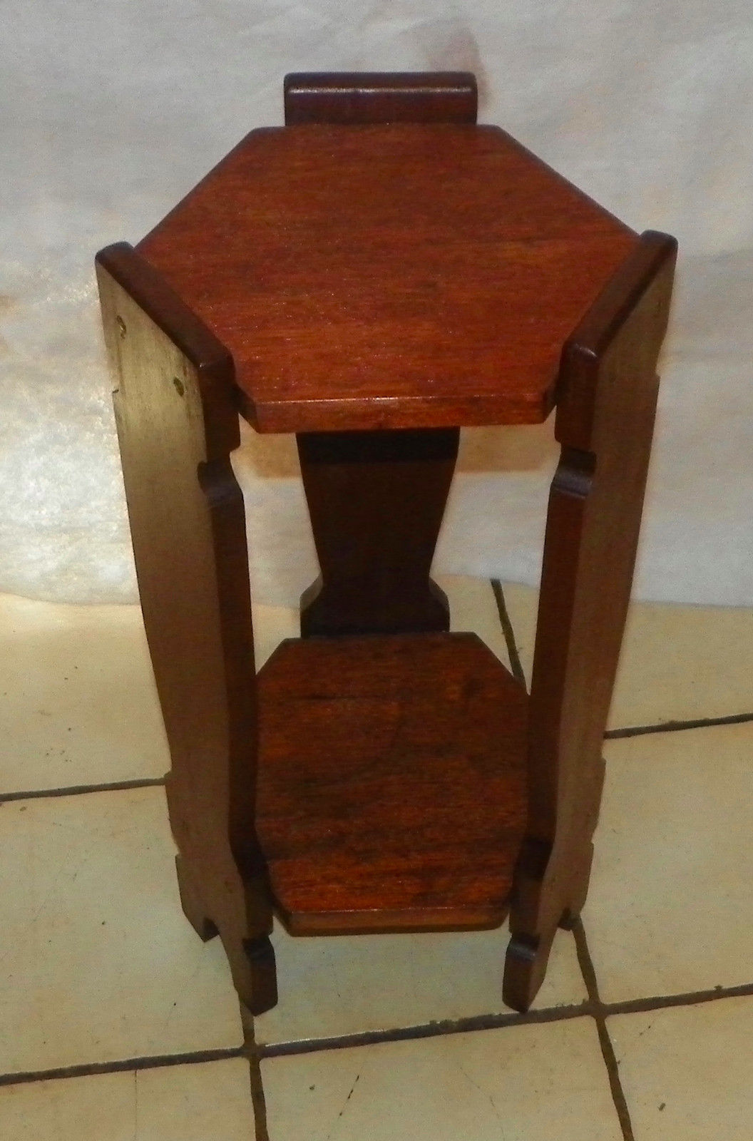 Primary image for Mahogany Arts & Crafts Mission Plant Stand