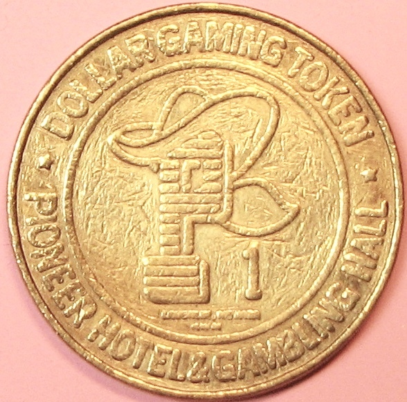 Primary image for $1 Casino Token. Pioneer, Laughlin, NV. RWM Mint. D84.