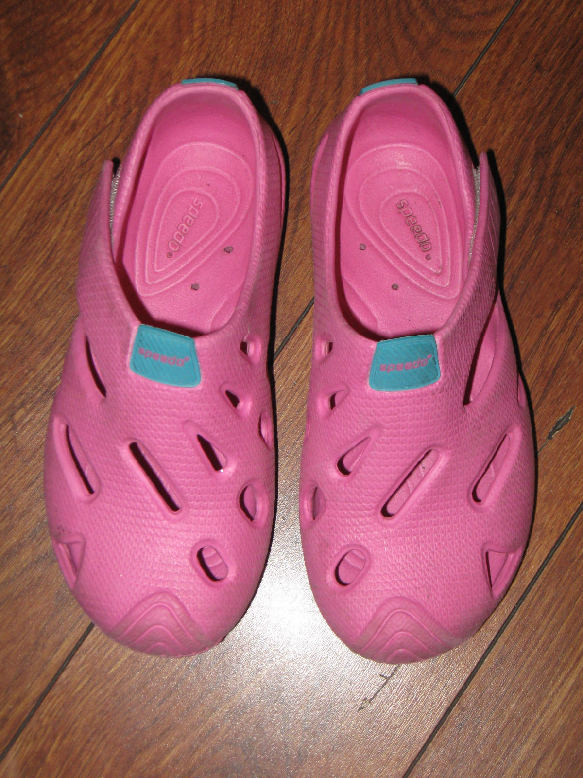 Primary image for SPEEDO SHOES PINK RUBBER CLASSIC CLOGS UNISEX TODDLER GIRLS SZ 11-11.5