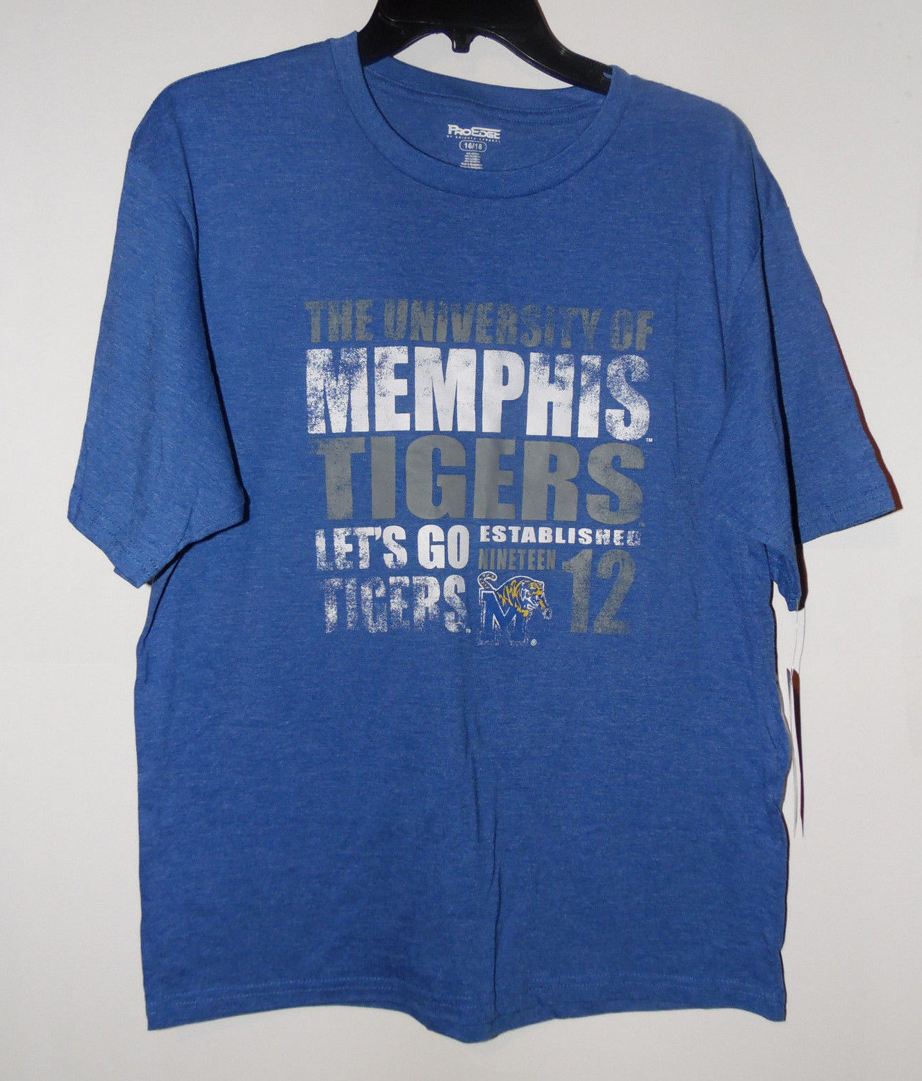 Primary image for Memphis Tigers Boys T-Shirt Top Sizes-6-7 ,12-14 ,16-18 NWT