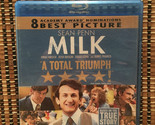 Milk (Blu-ray, 2009)Harvey Milk.Oscar Winner.Dir<Good Will Hunting/To Die For