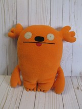 "D2 Ugly Doll MRS. KASOOGI Orange 13"" Plush Pillow Stuffed Toy Uglydoll  - $14.84"