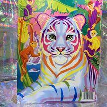 Lisa Frank Pocket Folder   Rainbow White Tiger Excellent Cond 90s Vintage image 6