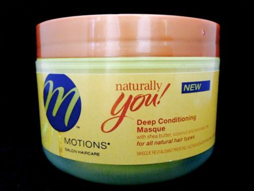 MOTIONS NATURALLY YOU DEEP CONDITIONING MASQUE FOR ALL HAIR TYPES 8oz