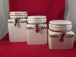 2002 Set of 3 Coca'Cola Canisters - $20.00