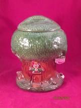 KEEBLER  ELFIN TREE HOUSE COOKIE JAR, Mccoy 350 USA - $30.00