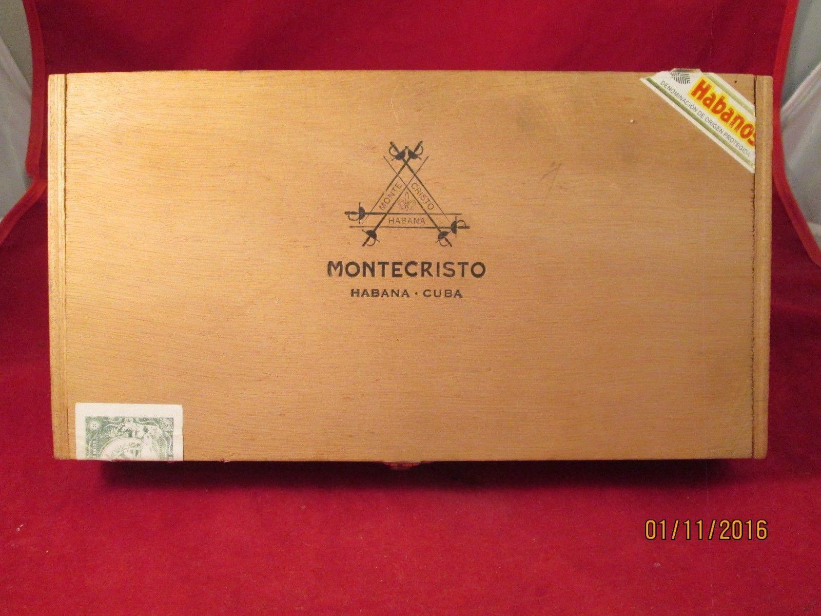 Montecristo Wood Cigar Box and 50 similar items. S l1600 4f554587c99c5