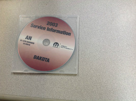2003 Dodge Dakota Truck Service Shop Repair Manual Cd Dvd Brand New Oem - $167.36