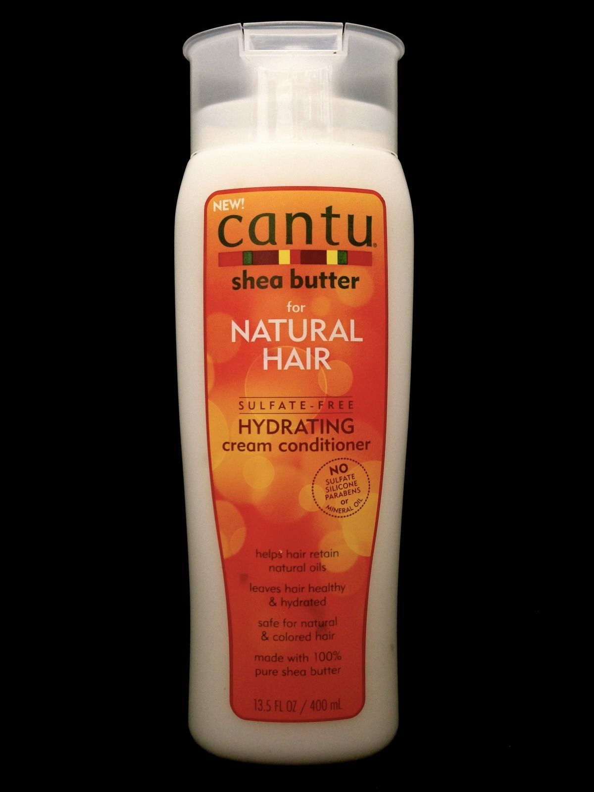 CANTU SHEA BUTTER FOR NATURAL HAIR SULFATE FREE HYDRATING CREAM CONDITIONER 13.5