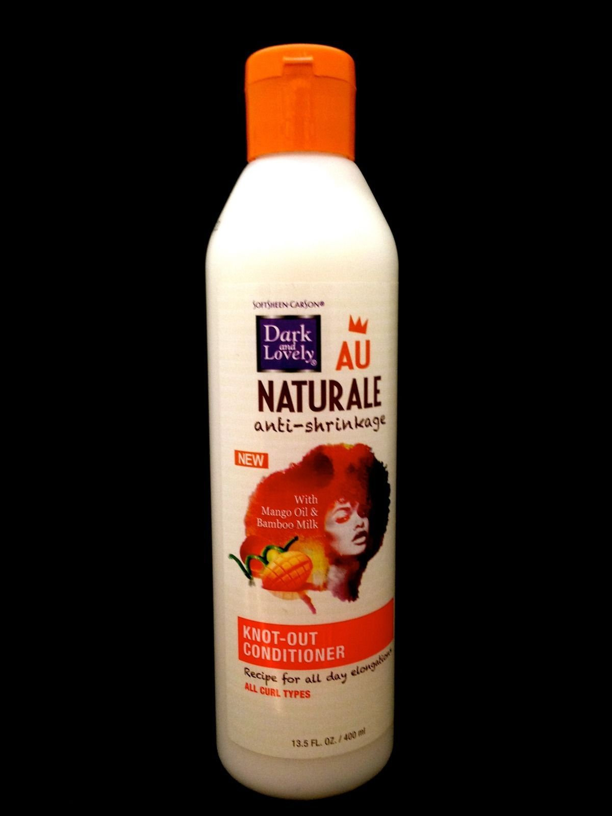 DARK AND LOVELY AU NATURALE ANTI SHRINKAGE KNOT OUT CONDITIONER FOR ALL CURLS