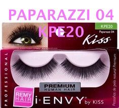 I ENVY BY KISS EYELASHES PAPARAZZI 04- KPE20 100% HUMAN HAIR EYELASHES - $2.96