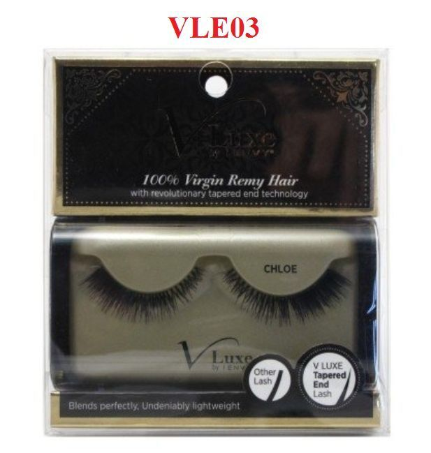 VLUXE by i ENVY #CHLOE #VLE03 100% VIRGIN REMY HAIR with revolutionary tapered