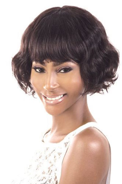 ORADELL MOTOWN TRESS HIR-CUTE 100% INDIAN REMY HUMAN HAIR WAVY PAGE WIG OL9""