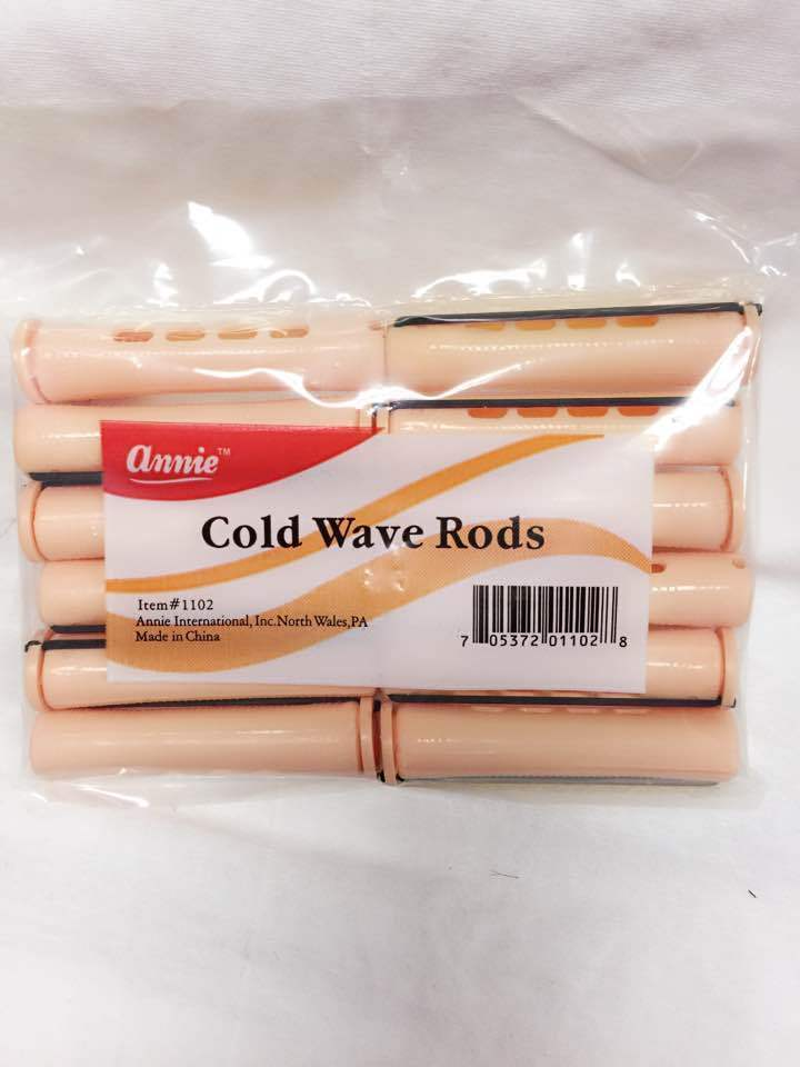 "ANNIE COLD WAVE RODS  12 COUNT ITEM# 1102 SIZE: 3.25""X 0.75"""