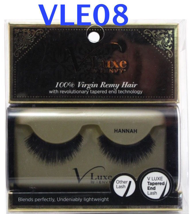 V LUXE by i ENVY HANNAH # VLE08 100% VIRGIN REMY HAIR with revolutionary tapered