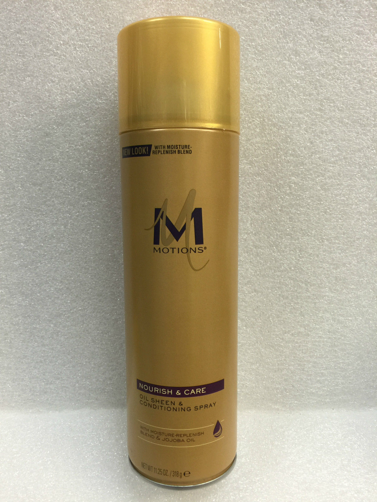 MOTIONS OIL SHEEN & CONDITIONING SPRAY W/ SWEET ALMOND OIL 11.25oz