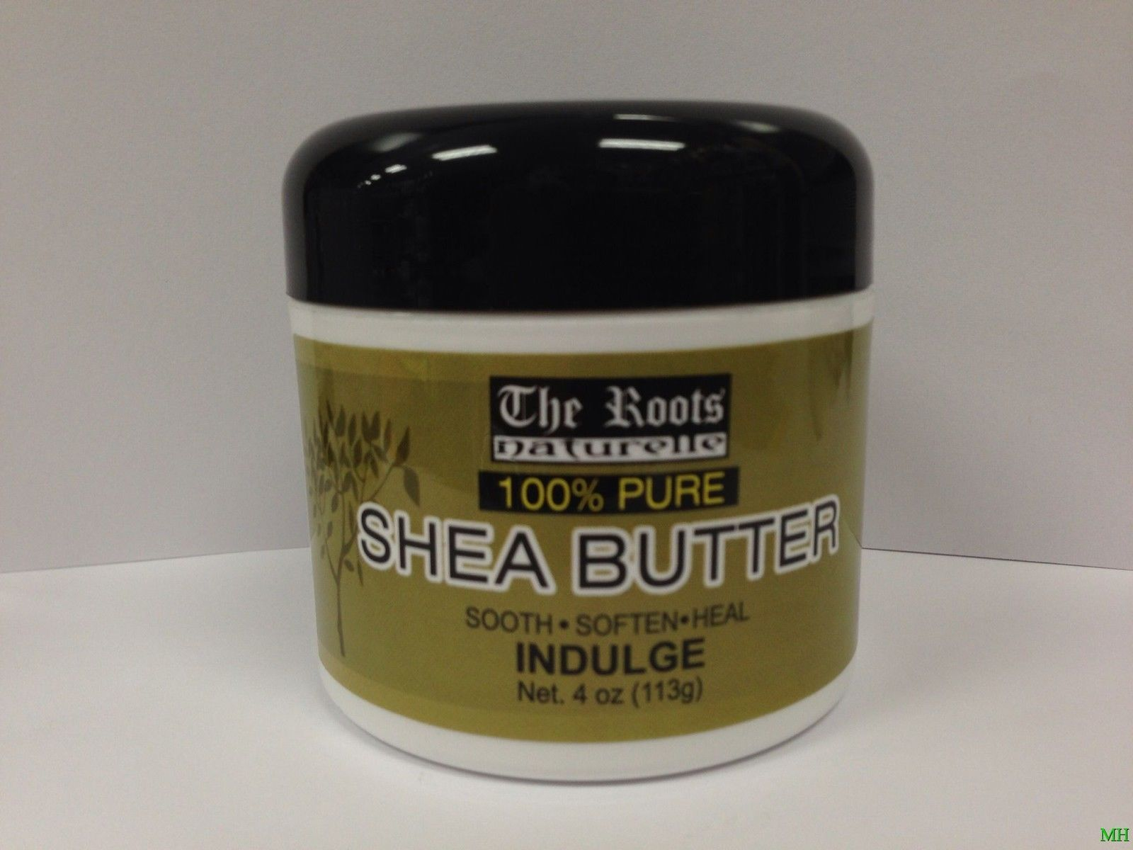 THE ROOTS NATURELLE 100% PURE SHEA BUTTER SOOTH.SOFTEN.HEAL INDULGE 4oz