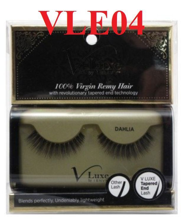VLUXE by i ENVY DAHLIA #VLE04 100% VIRGIN REMY HAIR with revolutionary tapered
