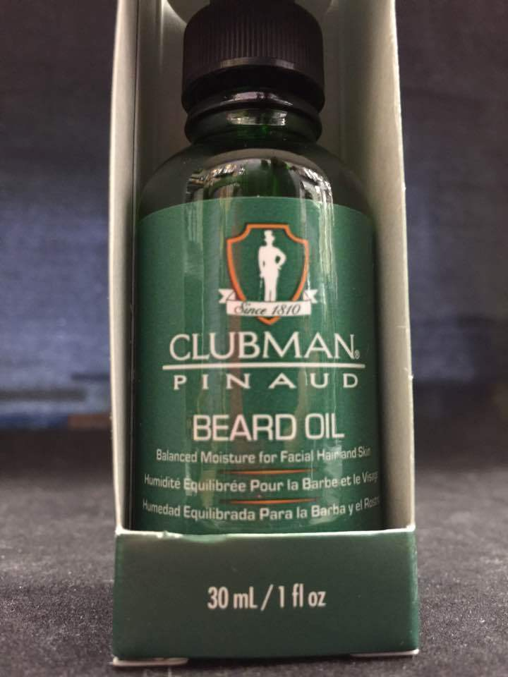 CLUBMAN PINAUS BEARD OIL 1 fl oz Balanced Moisture for Facial Hair & Skin