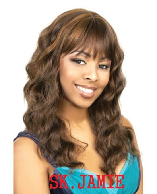 ORADELL MOTOWN TRESS SK-JAMIE SIMPLE CAP DEEP WAVE CURLS/LONG SHOWGIRL18'