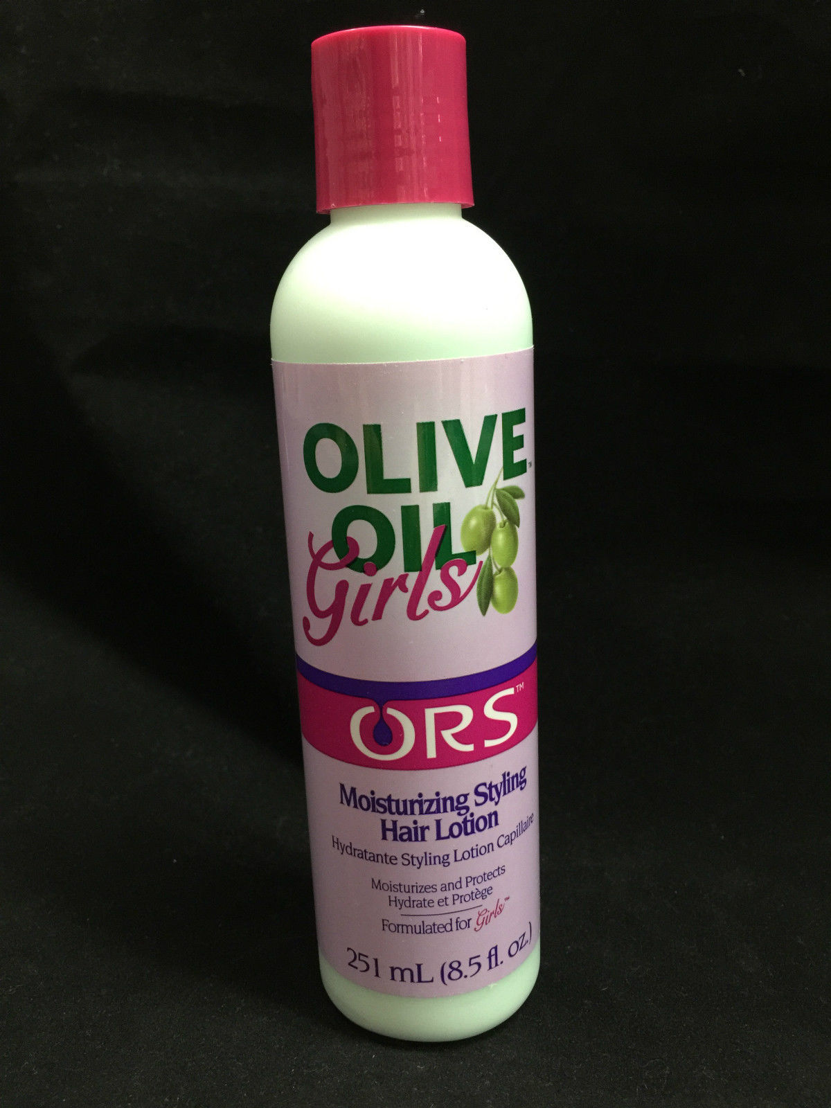 ORS ORGANIC ROOT STIMULATOR OLIVE OIL GIRLS MOISTURIZING STYLING HAIR LOTION