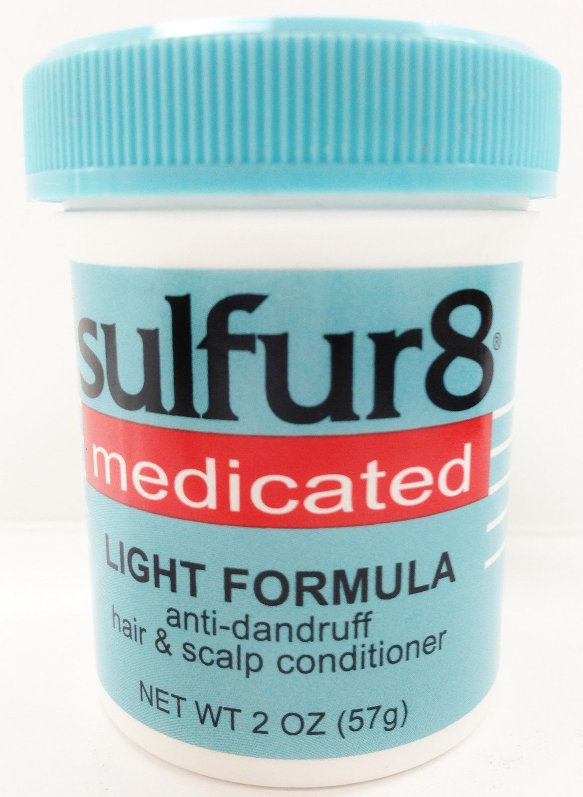 SULFUR 8 MEDICATED LIGHT FORMULA ANTI DANDRUFF HAIR & SCALP CONDITIONER 2oz