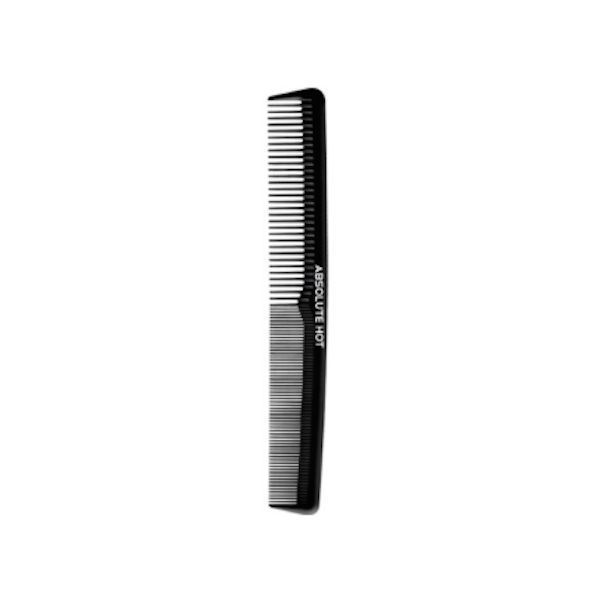 "AH WIDE TOOTH STYLING PROFESSIONAL CARBON COMB HEAT RESISTANT 7"" #HC127"