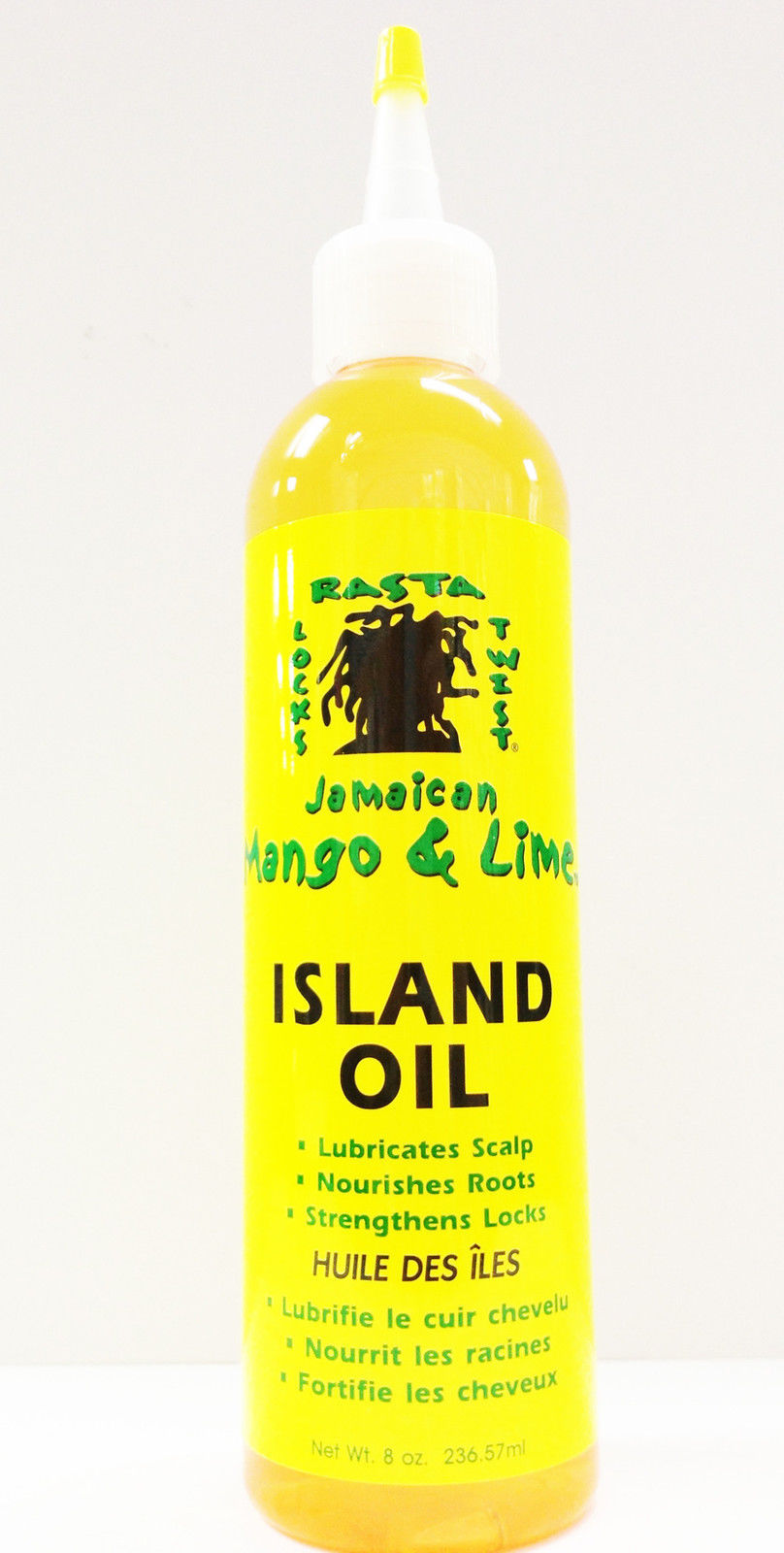 JAMAICAN MANGO & LIME ISLAND OIL LUBRICATES SCALP, NOURISHES ROOTS 8oz