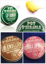 RUBY KISS POT O'MIRACLE LIP BALM : EMOLIENT, RE... - $1.99