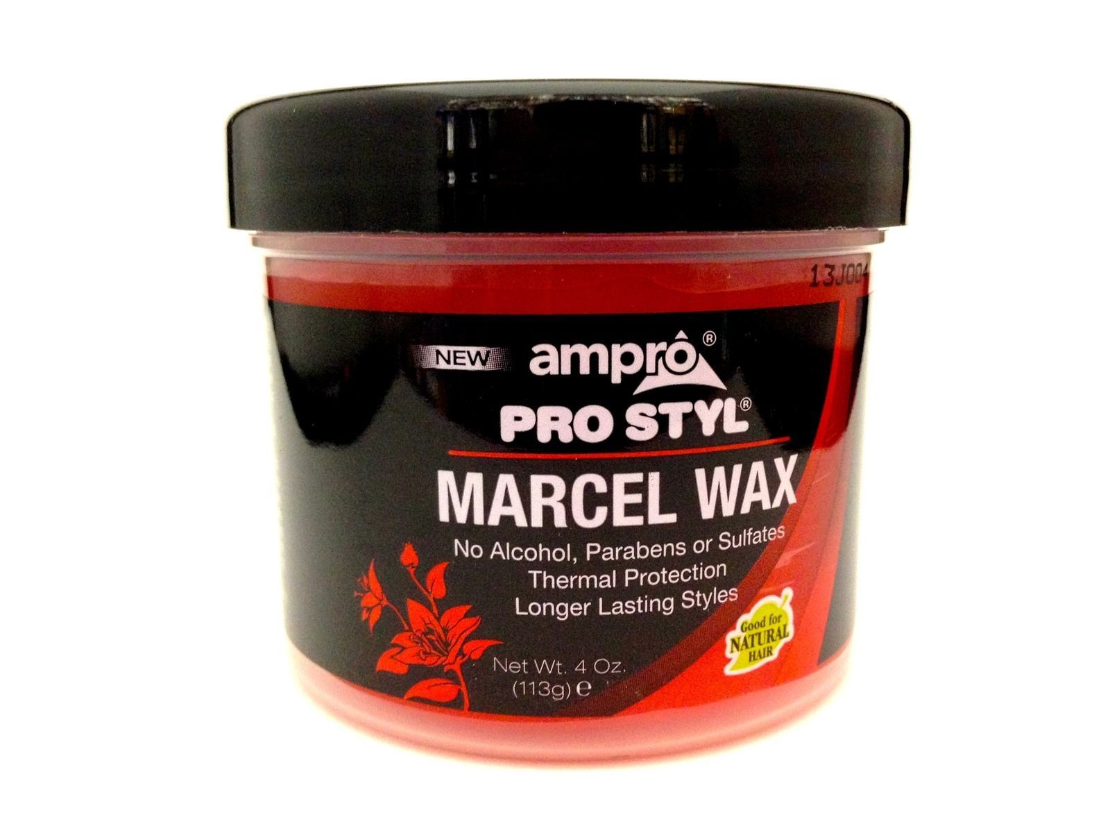 AMPRO PRO STYL MARCEL WAX NO ALCOHOL PARABEN OR SULFATES THERMAL PROTECTION 12oz