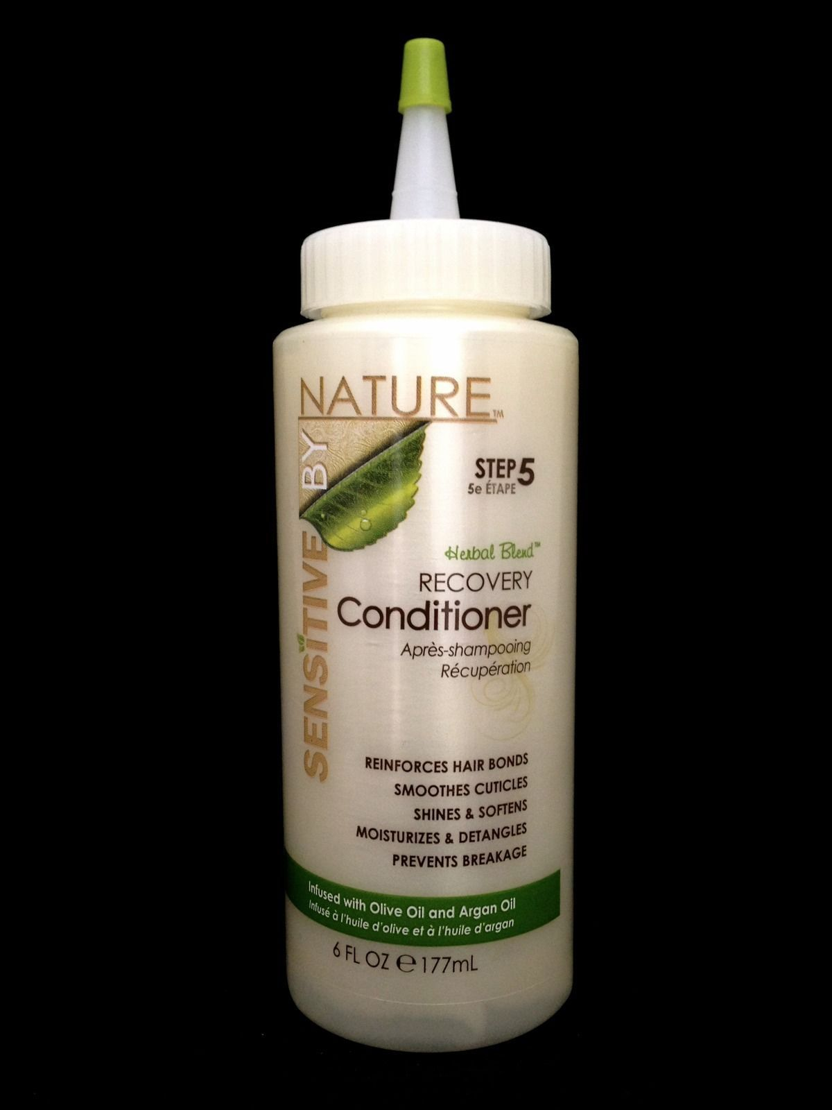 SENSITIVE BY NATURE HERBAL BLEND RECOVERY CONDITIONER SMOOTHES CUTICLES 6oz