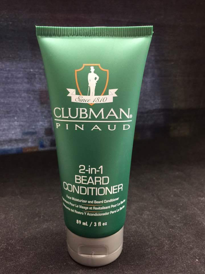 CLUBMAN PINAUD 2-in-1 BEARD CONDITIONER FACE MOISTURIZER & BEARD CONDITIONER 3oz