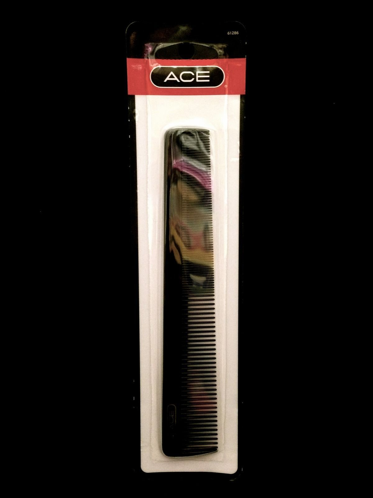 "ACE ALL PURPOSE COMB FOR EVERYDAY USE AND ALL HAIR TYPES 7"" #61286"