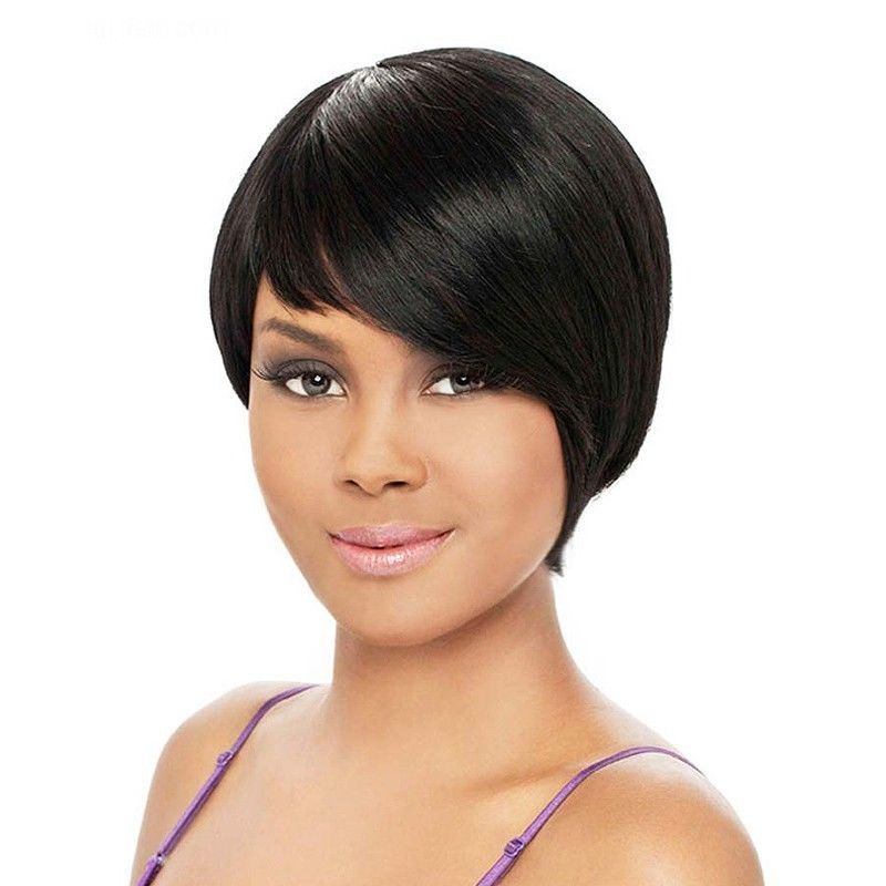 IT'S A WIG 100% HUMAN HAIR LUXURIOUS REMI HH REMI CORY SHORT TAPERED CUT WIG