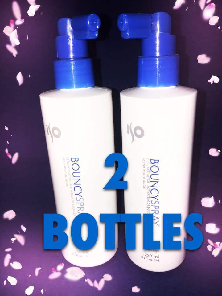 ISO BOUNCYSPRAY SET OF 2 OR 3 BOTTLES BEACH LOOK HAIR SPRAY WET LOOK CURL ACTIVA
