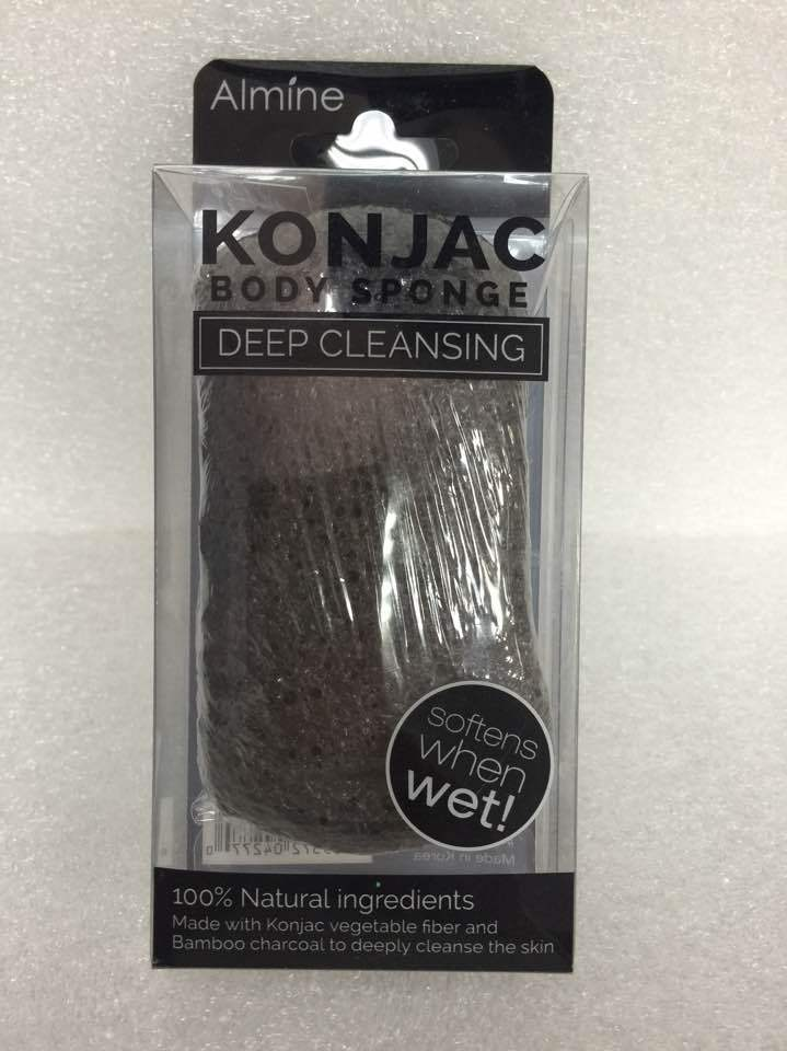 Primary image for ALMINE KONJAC BODY SPONGE DEEP CLEANSING MADE WITH KONJAC VEGETABLE FIBER #4277