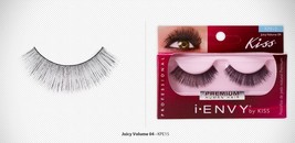 I ENVY by KISS PREMIUM JUICY VOLUME 04 LASHES KPE15 100% REMY HUMAN HAIR - $2.96