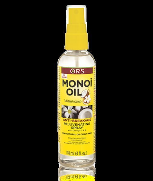 Primary image for ORS MONOI OIL ANTI BREAKAGE REJUVENATING SPRAY FOR NATURAL OR CURLY HAIR 4oz