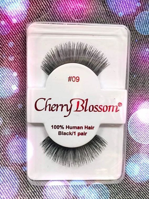 Primary image for CHERRY BLOSSOM EYELASHES STYLE #09 -100% Human Hair CHOOSE from VERIETY QTY SET
