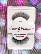 CHERRY BLOSSOM EYELASHES STYLE #09 -100% Human Hair CHOOSE from VERIETY ... - $1.57+