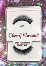 CHERRY BLOSSOM EYELASHES STYLE #66 -100% Human Hair CHOOSE from VERIETY ... - $1.59+