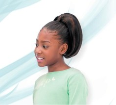 "SHAKE N GO FREETRESS KIDS PONYTAIL YAKY WRAP 11"" STRAIGHT STYLE PONYTAIL KIDS"