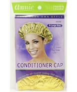 ANNIE X LARGE CONDITIONER CAP ONE SIZE # 4446  SPECIAL COATING SELF WARMING - $1.97