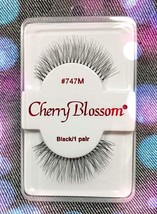CHERRY BLOSSOM EYELASHES STYLE #747M 100% Human Hair CHOOSE from VERIETY... - $1.57+