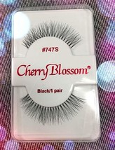 CHERRY BLOSSOM EYELASHES STYLE #747S 100% Human Hair CHOOSE from VERIETY... - $1.57+