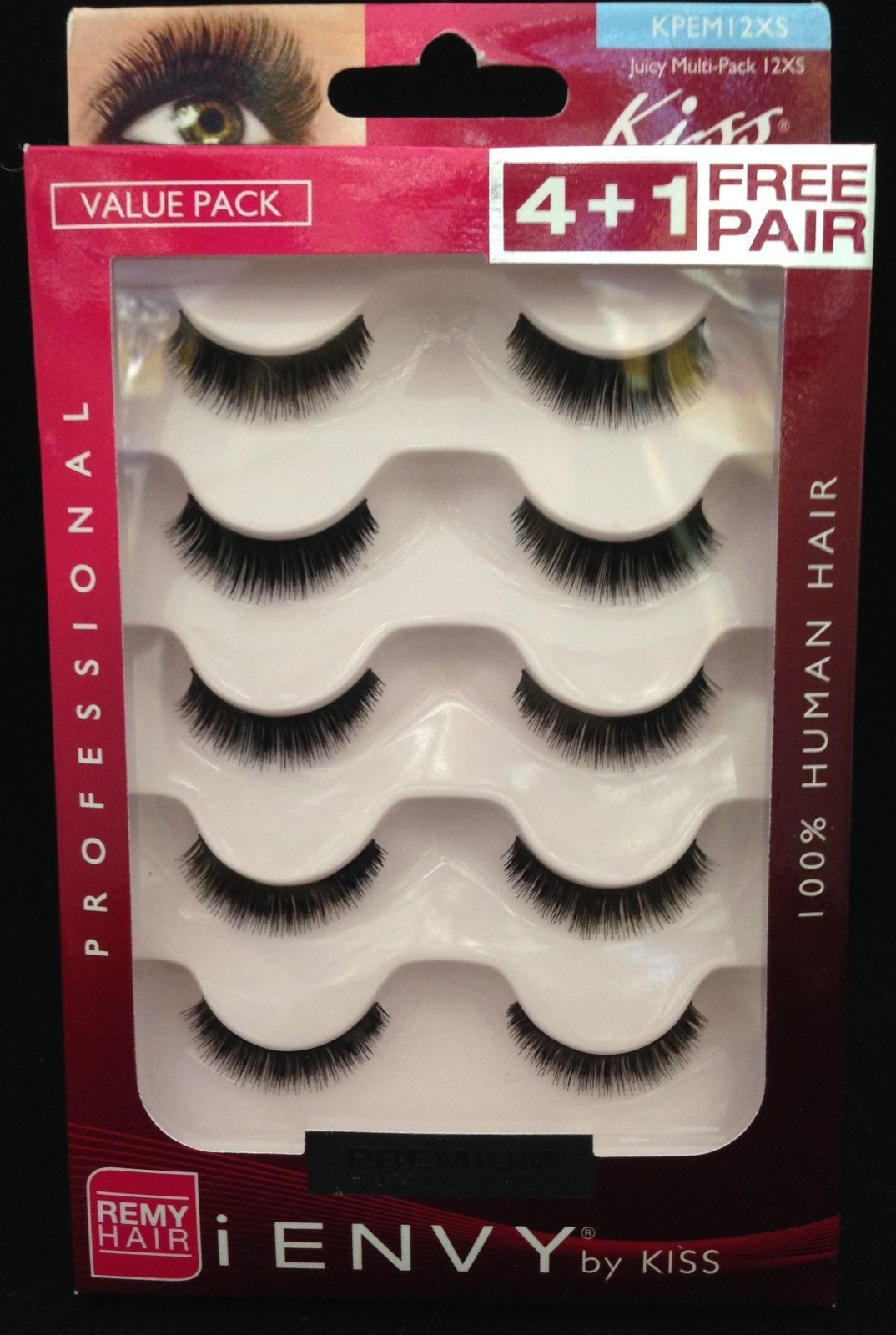 Primary image for I ENVY BY KISS EYELASHES JUICY MULTI PACK 12XS KPEM12XS VALUE PACK EYELASHES