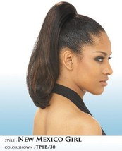 SHAKE N GO FREETRESS NEW MEXICO GIRL STRAIGHT DRAWSTRING PONYTAIL