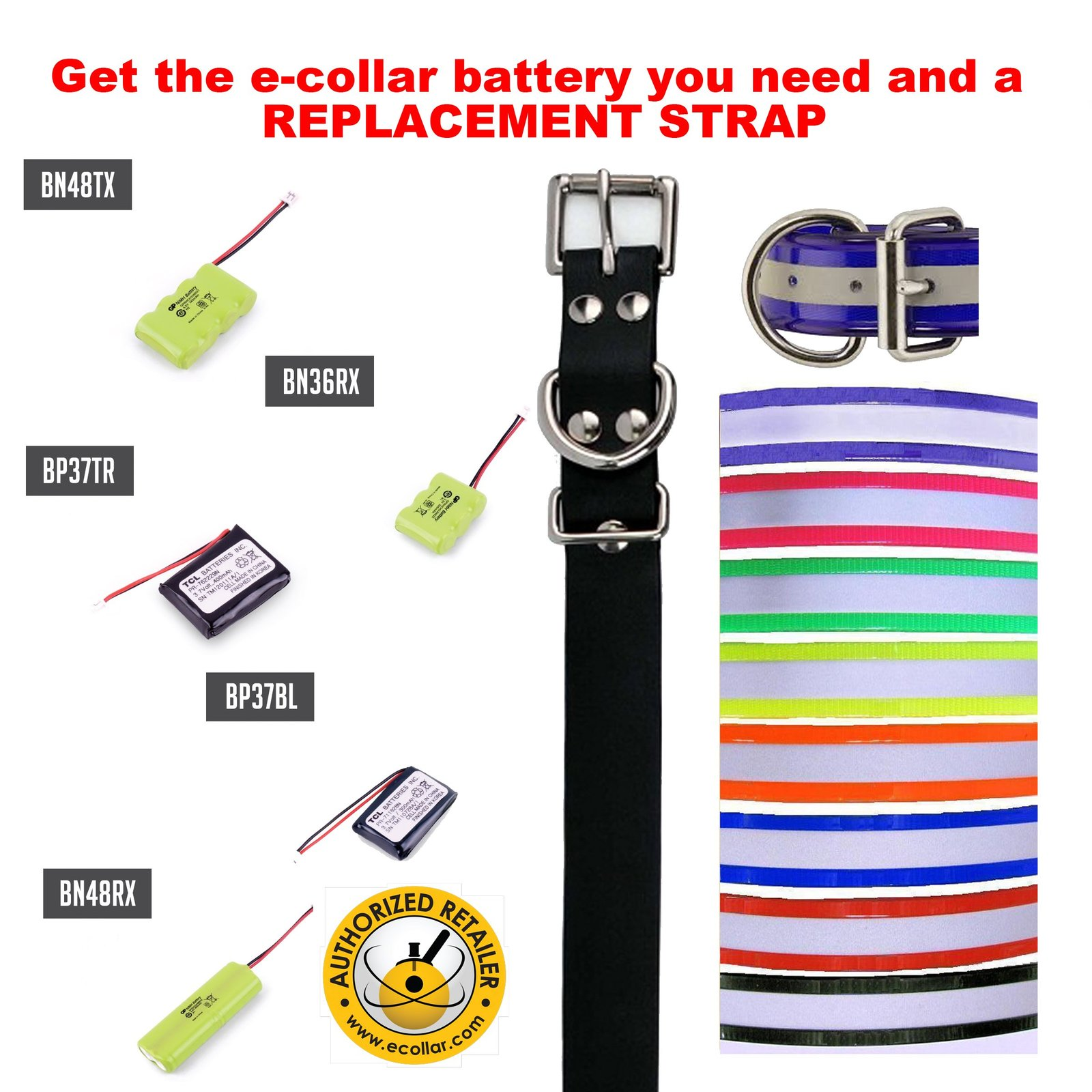 Educator E Collar Replacement Battery for 400TS, 500, 500A Remote Dog Trainer...